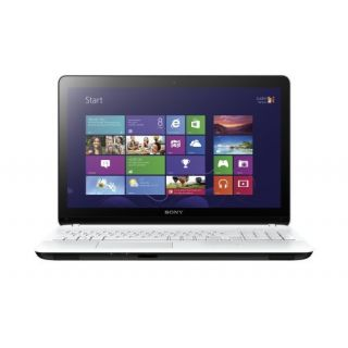 Product image of Sony Vaio SVF1521C6E (15.5 inch) Notebook Intel Pentium (2117U) 1.8GHz 4GB 500GB DVD WLAN Windows 8 (Intel HD Graphics NVIDIA GeForce GT 740M) - White