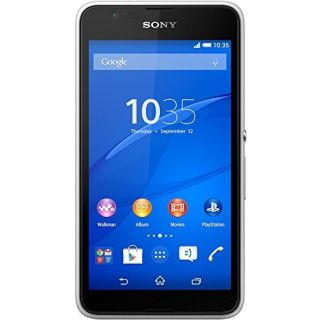 Product image of SONY 1293-2616 Sony Xperia E4 Sim Free - White*
