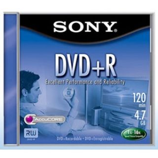 Product image of Sony DVD+R 4.7GB 16x Spindle 50x Bulk