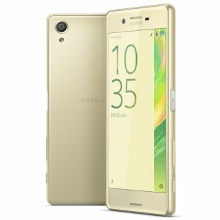 Product image of SONY 1304-1095 Sony Xperia X Lime Gold