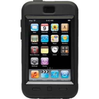 Product image of OtterBox Defender Case (Black) for iPod Touch 2nd and 3rd Generation