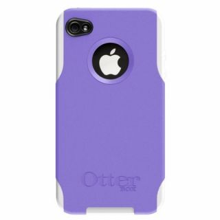 Product image of OtterBox Commuter Series Case (Purple/White) for iPhone 4