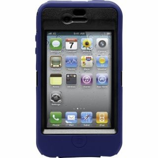 Product image of OtterBox Defender Series Case (Blue/Black) for Apple iPhone 4