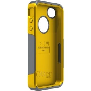 Product image of OtterBox Commuter Series Case (Gunmental Grey PC/Sun Yellow) for iPhone 4/4S