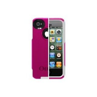 Product image of OtterBox Commuter Series Case (Hot Pink/White) for iPhone 4/4S