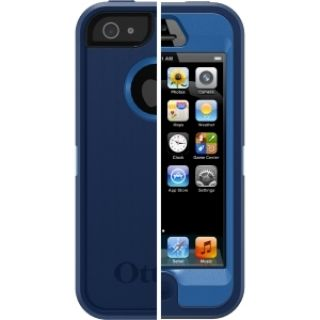 Product image of OtterBox Defender Series Case (Night Sky: Ocean Blue/Light Blue) for Apple iPhone 5