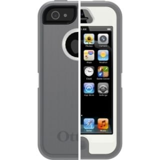 Product image of OtterBox Defender Series Case (Glacier: White/Gunmetal Grey) for Apple iPhone 5