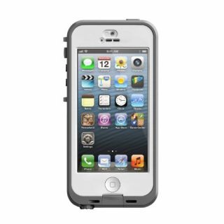 Product image of LIFEPROOF NUUD FOR IPHONE 5/5S WHITE/CLEAR EN/SV/RU/PL/FI/TR