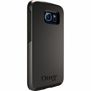 Product image of OtterBox Symmetry Mobile Phone Case (Black) for Samsung Galaxy S6
