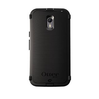 Product image of OTTERBOX - RETAIL DEFENDER SERIES FOR MOTO X 3RD GEN. BLACK