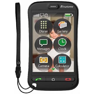 Product image of Binatone SM800 (3.5 inch) Touch Screen Mobile Phone Bluetooth 3.0