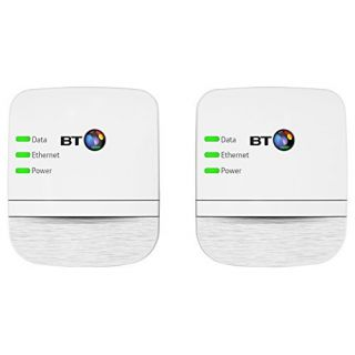 Product image of BT 600Mbps Broadband Extender 600 Kit (Twin Pack) - White