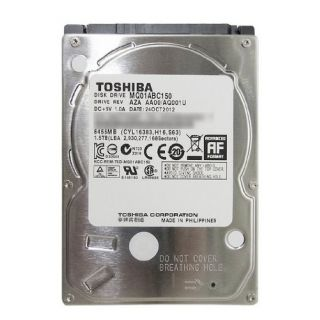Product image of Toshiba MQ01ABC150 (1.5TB) 5400rpm 8MB 2.5 inch Serial II Hard Drive (Internal) PX1830E-1HK0