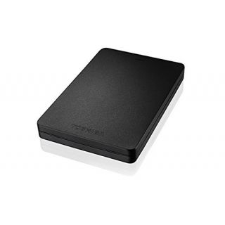 Product image of Toshiba Canvio Alu 2.5 inch (500GB) External Hard Drive USB 3.0 (Black)