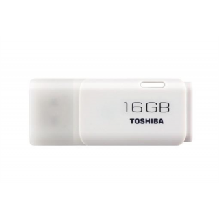 Product image of Toshiba TransMemory 16GB USB 2.0 Flash Drive (White)