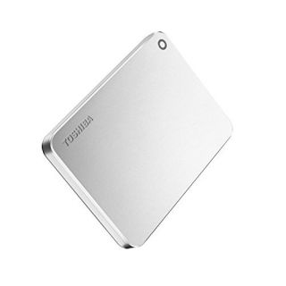 Product image of Toshiba Canvio Premium Mac (1TB) External Hard Drive USB 3.0 (Silver Metallic)