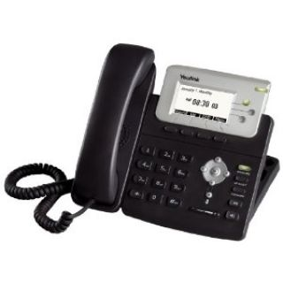 Product image of Yealink SIP-T22PN Entry Level IP Phone LCD Backlit Power Over Ethernet (PoE) TI-Titan VPN (Black)