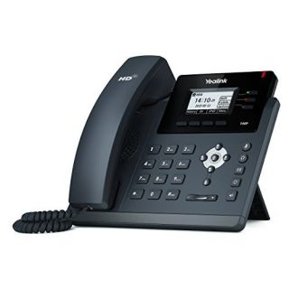 Product image of Yealink T40P Entry Level IP Phone 3-Line Keys 3-SIP Accounts Handsfree PoE (Black)