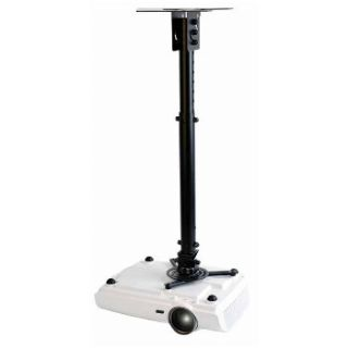 Product image of Optoma OCM815B Universal Projector Ceiling Pole Mount (Black)