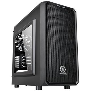 Product image of THERMALTAKE CA-1D4-00S1WN-00 Thermaltake Versa H15 M-ATX Gaming Case With Side Window USB3 Black Interior