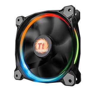 Product image of THERMALTAKE RIING 14 LED RGB FAN 140mm WITH FAN SWITCH 3 PACK CASE FAN