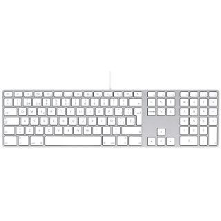 Product image of Apple Keyboard with Numeric Keypad (Spanish)