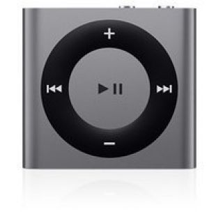 Product image of Apple iPod Shuffle 4 (2GB) VoiceOver Playlists (Space Grey)
