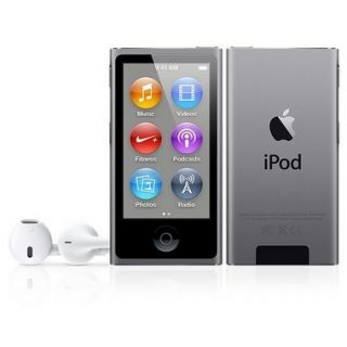 Product image of Apple iPod Nano (2.5 inch) Multi-Touch LCD Display 16GB FM-Radio Bluetooth (Space Grey)