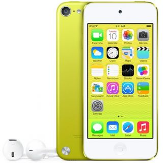 Product image of Apple iPod Touch (4.0 inch Multi-touch) Retina Display 16GB WLAN Bluetooth Camera iOS7 (Yellow)