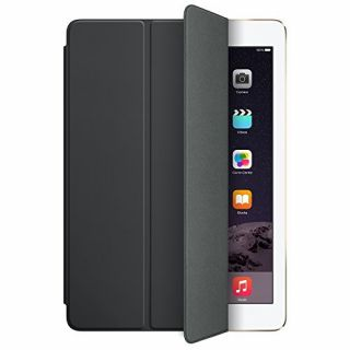 Product image of Apple Polyurethane Smart Cover (Black) for iPad Air