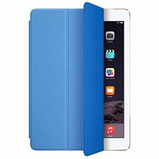 Product image of Apple Polyurethane Smart Cover (Blue) for iPad Air