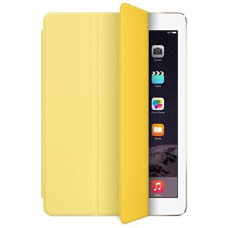 Product image of Apple Polyurethane Smart Cover (Yellow) for iPad Air