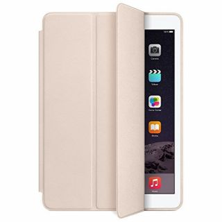 Product image of Apple Aniline-dyed Leather Smart Case (Soft Pink) for iPad Air 2