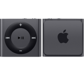 Product image of Apple iPod Shuffle (2GB) VoiceOver Playlists (Space Grey)