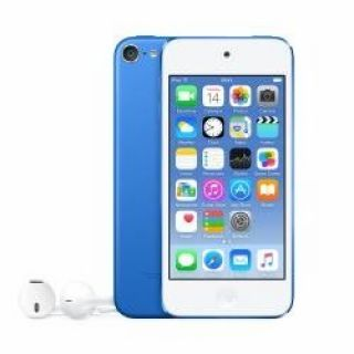 Product image of Apple iPod Touch (4.0 inch Multi-touch) Retina Display A8-Chip 64GB WLAN Bluetooth Camera iOS8 (Blue)