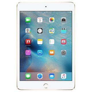 Product image of Apple iPad Mini 4 (7.9 inch Multi-Touch) Tablet PC 128GB WiFi Bluetooth Camera Retina Display iOS 9.0 (Gold)