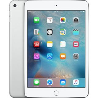 Product image of Apple iPad Mini 4 (7.9 inch Multi-Touch) Tablet PC 128GB WiFi + Cellular Bluetooth Camera Retina Display iOS 9.0 Apple SIM (Silver)