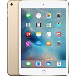Product image of Apple iPad Mini 4 (7.9 inch Multi-Touch) Tablet PC 128GB WiFi + Cellular Bluetooth Camera Retina Display iOS 9.0 Apple SIM (Gold)