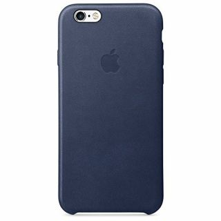Product image of Apple Leather Case (Midnight Blue) for iPhone 6s