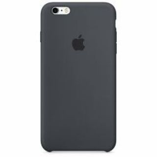 Product image of Apple Silicone Case (Charcoal Grey) for iPhone 6 Plus