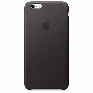 Product image of Apple Leather Case (Black) for iPhone 6s Plus