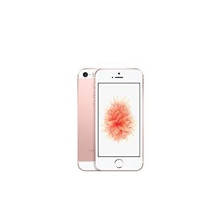 Product image of Apple iPhone SE (4 inch Multi-Touch) 16GB WLAN WWAN Bluetooth Camera Fingerprint-Sensor iOS9 (Rose Gold)
