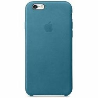 Product image of Apple Leather Case (Marine Blue) for iPhone 6s