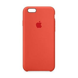 Product image of Apple Silicone Case (Red) for iPhone 6s