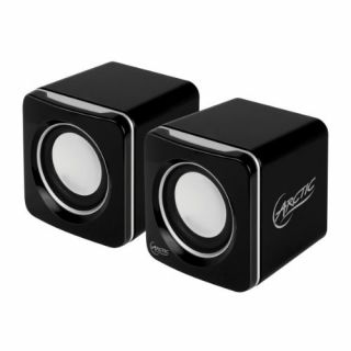Product image of Arctic S111 (4W) USB-Powered Portable Speakers (Black)