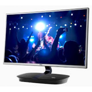 Product image of AOC I2473PWM AOC I2473PWM 23.8 INCH LED  IPS  1920x1080  VGA  HDMI x2  SPEAKERS  VESA  TILT  BLACK  5 YR WARRANTY