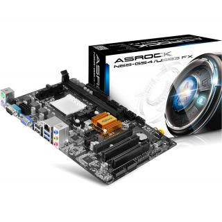 Product image of ASRock N68-GS4/USB3 FX Motherboard AMD Phenom II/Athlon II/Sempron Socket AM3+ GeForce 7025/n630a mATX RAID Gigabit LAN