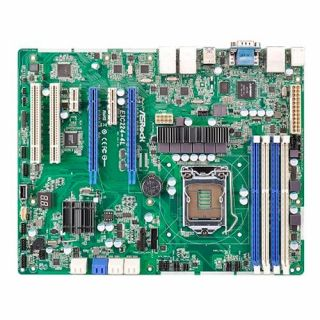 Product image of ASROCK E3C224-4L Asrock E3C224-4L Server Board Intel C224 1150 ATX Quad GB LAN IPMI LAN Serial Port