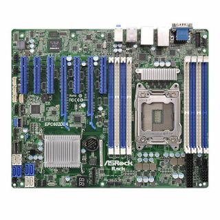 Product image of ASROCK EPC602D8A Asrock EP2C602-D8A Server Board Intel C602 2011 ATX Dual GB LAN IPMI LAN Serial Port FireWire
