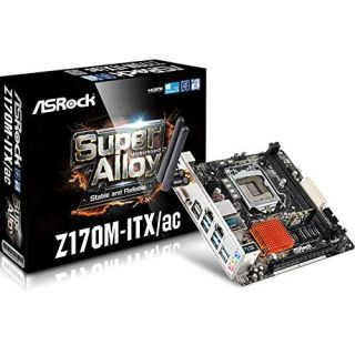 Product image of ASROCK - MAINBOARDS Z170 GAMING ITXAC 1151 Z170 ITX 2XHD+DP+SND+GLN+U3+S3+D3+BTWIFI IN